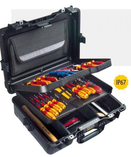 Werkzeugkoffer Trolley Hartschale IP67 leer