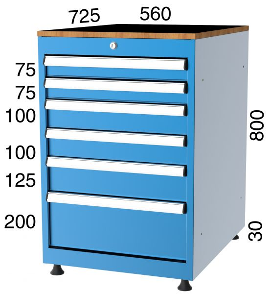 Schubladenschrank SE 57080
