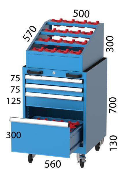 CNC Werkzeugwagen SE 2750