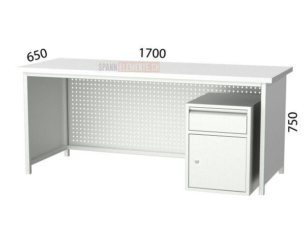 Metallschreibtisch SE 3106