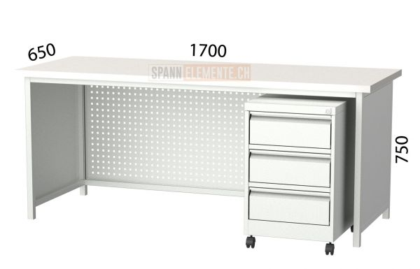 Metallschreibtisch SE 3105