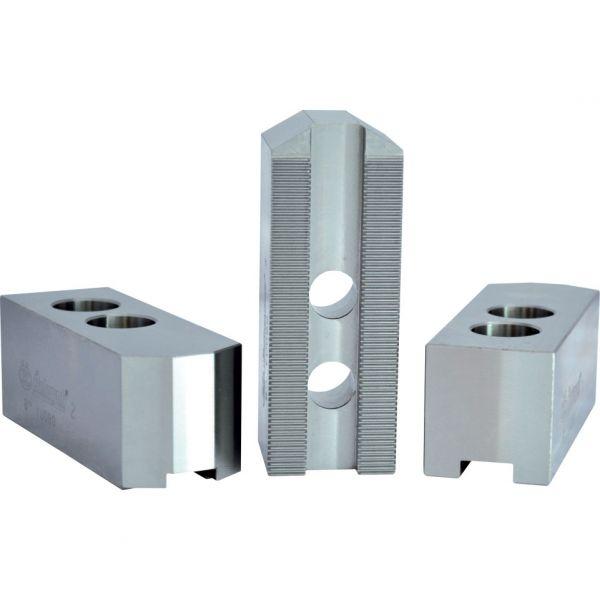 3er Set Aufsatzbacken flach/lang, 1.5x60°