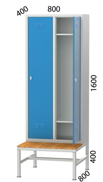 Spind,Garderobenschrank SE 6045