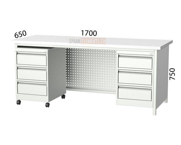 Metallschreibtisch SE 3107