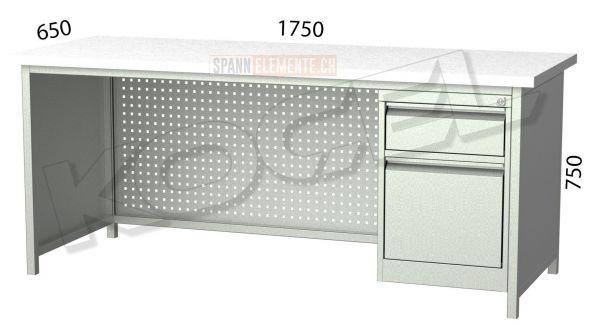 Metallschreibtisch SE 3108