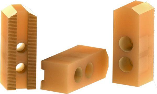 3er Set Aufsatzbacken Kunststoff 1.5x60°